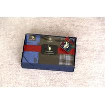 3 Calzoncillos Boxers Polo Original De Estados Unidos L