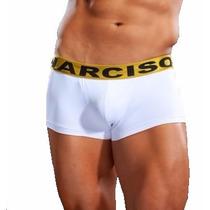 Boxer Corto Narciso Línea Premium Cintura Color Oro