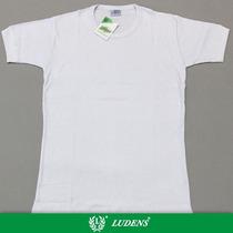 Camiseta Interlock Manga Corta Escote Redondo - Ludens