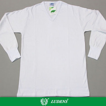 Camiseta Interlock Manga Larga Escote V - Ludens