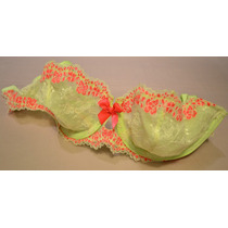 Corpiño Dream Angels Unlined Lace Demi Victoria