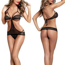 Lenceria Babydoll Catsuit Bikini Conjunto Mod.1020