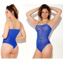 Body Sexy/erotico Semi Transparente Super Sensual