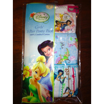 Bombachitas Disney Tinker Bell. Pack De 3.