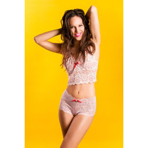 Conjunto Top + Culote Toia (to-8216)