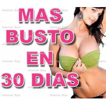 Promo Pack 3 Agranda Bustos + 3 Quemador De Grasa