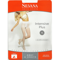 Media De Descanso Silvana Intensive Plus Talle Especial Bx