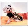 Campera Glam Rock-fashion Pets Fyk- Ropa Chic Para Perros