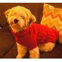 Abrigo Para Perro Sweater Capita Buzo Campera Tejidos A Mano