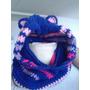 Cuello Capucha Con Orejitas Crochet