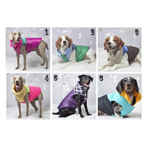 Chaleco Impermeable Perro Mascota Talles Medianos