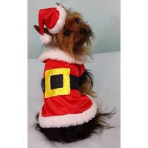 Disfraz Navideño/navidad/papa Noel Para Perros Ropa Perros