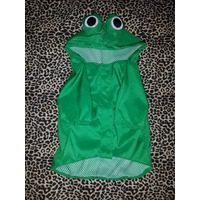 Disfraz Sapo Impermeable/ Ropa Para Perros/ Talle Color