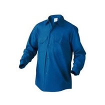 Camisa De Trabajo Antiácida Arciel Palenque Azul T.38-48