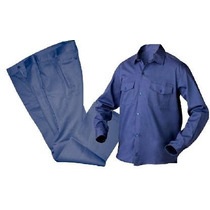 Camisa Azul Calidad Ropa De Trabajo Factura A Y B