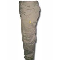 Pantalon Cargo Pampero Tiempo Libre Beige - Azul Talle 38-54