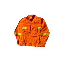 Ropa De Trabajo Reforzada Naranja Reflectivo Grafa 70 Ombu