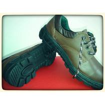 Zapato De Seguridad Marron S/p