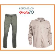 Camisa O Pantalón De Trabajo Homologado Grafa 70