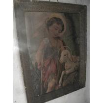 Lamina Niño Jesus Traída De Europa Principio Siglo Xx $199