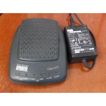 Router Modem Adsl Cisco 677 C/fuente, Anda Ok!!