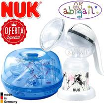 Nuk Super Pack Sacaleche + Esterilizador Y Mas / Factura