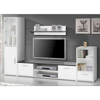 Modular Rak Tv Vajillero Organizador Biblioteca Aye220