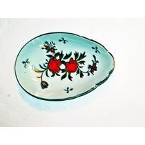 Posacucharas De Porcelana Japonesa Y Oro 22k Fileteado