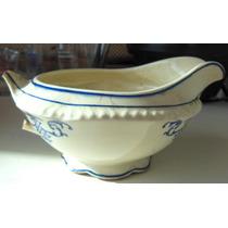 Salsera Muy Antigua Porcelana Inglesa Rota-tomo Art-local