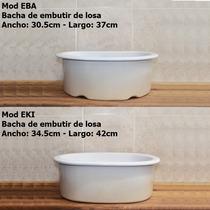 Bachas Baño Embutir Ceramica Losa Ovalada Baño Diseño Precio