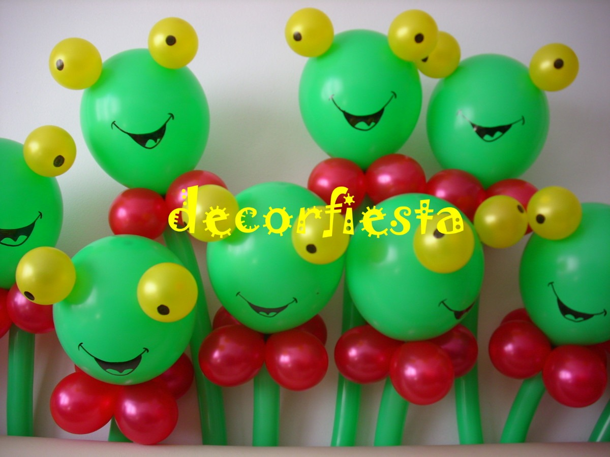 Sapo pepe para decoraci n con globos imagui for Decoracion de globos para hombres