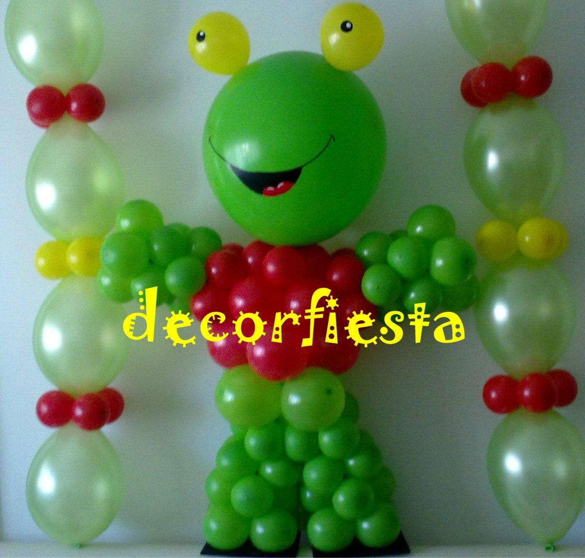 sapo pepe ambientaciones tematicas con globos decoracion sapo pepe