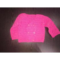 Saco De Bebe Al Crochet Artesanal Tejido A Mano Campera