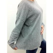 Sweater Ornamento Talle L Excelente Calidad