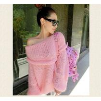 Sweater Pullover Poleron Tejido Artesanal