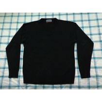 Pullover Sweater Barneys Talle L Escote En V