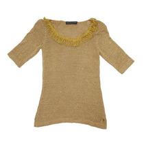 Clippate Sweater Pullover Tejido Algodón Mujer Primavera