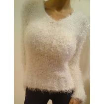 Sweater, Pulover Piel De Mono Blanco