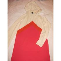 Gap Buzo Sweater Hilo Importado Con Capucha Talle 12 Años