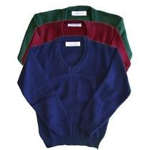Pullover Colegial Todos Los Colores - Talles De Niño