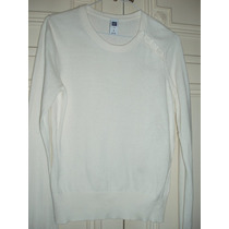 Pullover Sweater Buzo De Verano Gap - 75% Algodón - Original