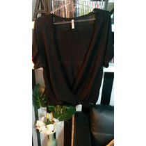 Saco Sweater Pulover Negro Markova