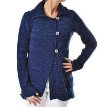 Sweater De Mujer, Saco, Con Botones, D-0026