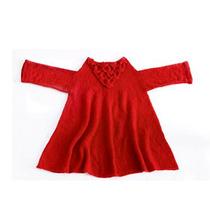 Clippate Sweater Pullover Tejido Lana Mohair Evasé Invierno