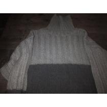 Excelente! Sweater Zara Hombre De Cuello Alto