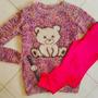 Sweater Pullover Mujer Osito Suave Delicado Lindo Rosa Sexy