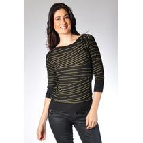 Sweater Fournier Mirta Armesto Mujer Con Tachas Envio Gratis
