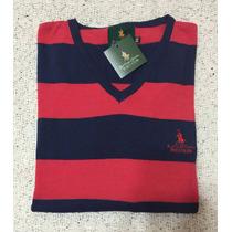 Divino Sweater Polo Club Escote En V, Unisex !