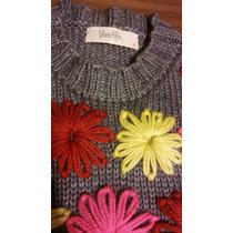 Sweater Lana Vero Alfie Divino Gris Flower
