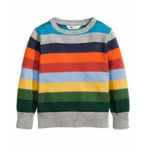 Sweater Tipo Bremer H&m Importado Multicolor